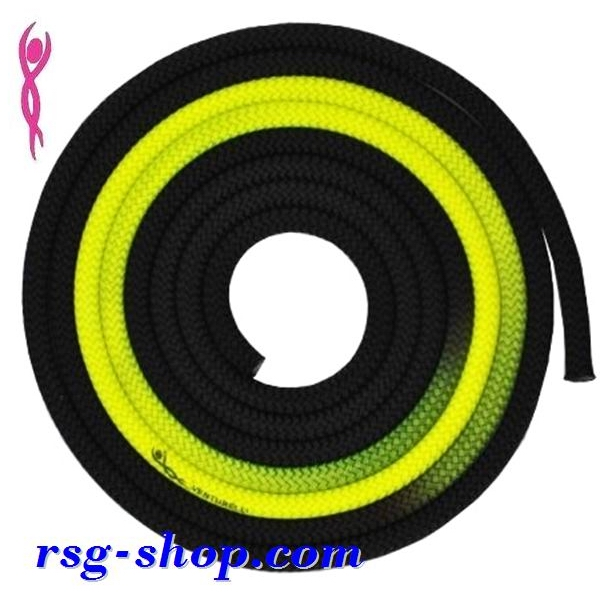 Seil Venturelli Gradation 3 m FIG col. Black-Yellow PLDD118002