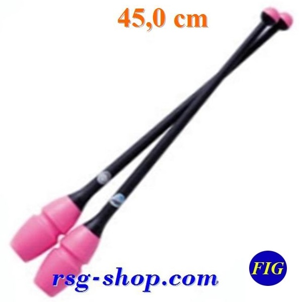 Clubs Chacott Combi 45 cm Pink x Black FIG 98209
