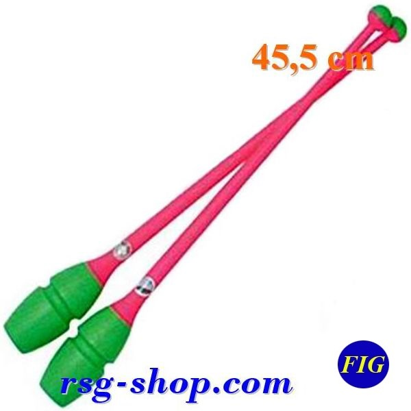 Clubs Chacott Combi 45 cm col. Green x Pink FIG 003-98443