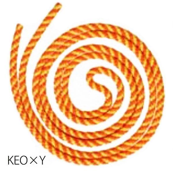 Seil Sasaki MJ-243 KEOxY 2,5m col. Fluo Orange-Yellow