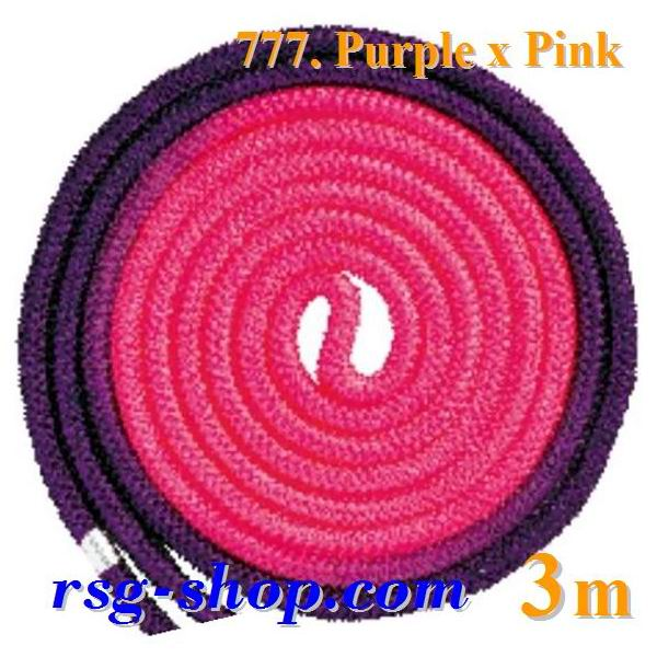 Seil Chacott Gradation 3 m FIG col. Purple-Pink 68777