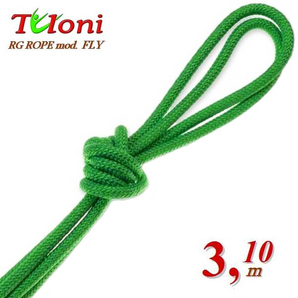 Wettkampfseil Tuloni for Senior 3,1 m 170 Gr. mod. Fly Green Art. T0195