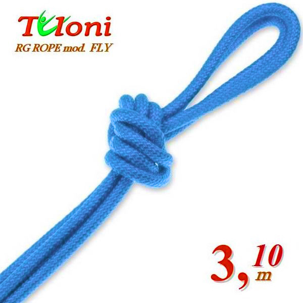 Wettkampfseil Tuloni for Senior 3,1 m 170 Gr. mod. Fly Lt.Blue Art.T0284