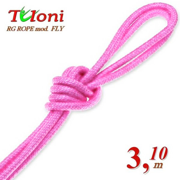 Wettkampfseil Tuloni for Senior 3,1 m 170 Gr. mod. Fly Lt.Pink Art.T0295