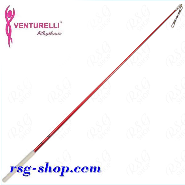 Stab 56 cm Venturelli Red_Glitter-White FIG ST5616-61601
