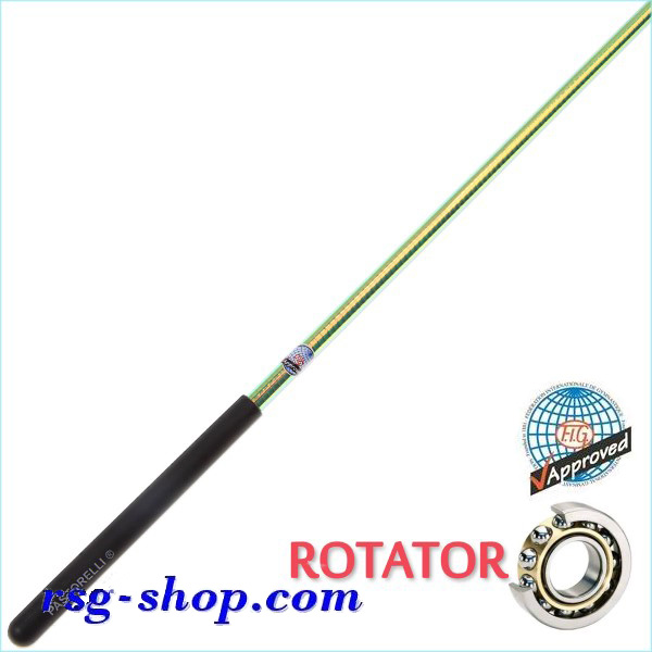 Stab 60cm Pastorelli mod. Rotator-Laser col. Lime grip Black FIG 03889