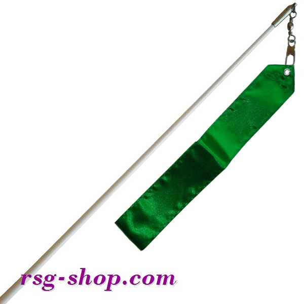 Weißer Stab 60cm & Band 6m in Green incl. Griff T0037