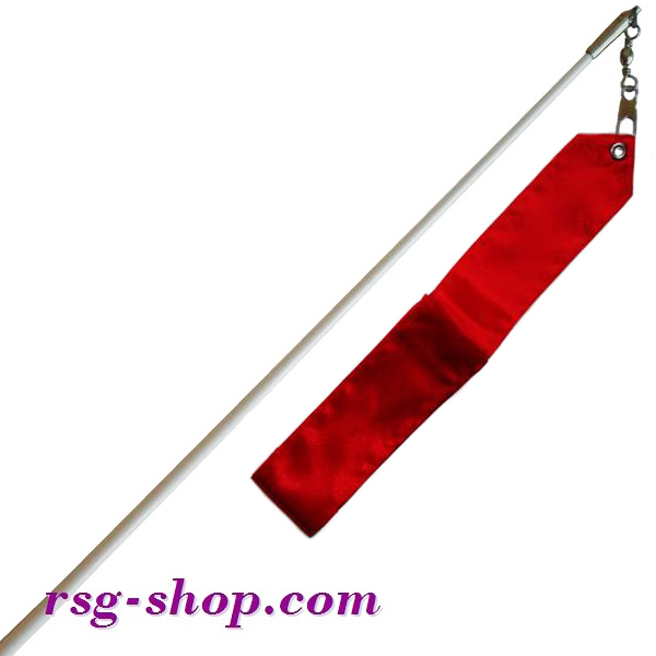 Weißer Stab 60cm & Band 6m in Red incl. Griff T0036
