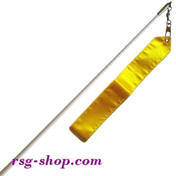 Weißer Stab 60cm & Band 6m in Yellow incl. Griff T0031