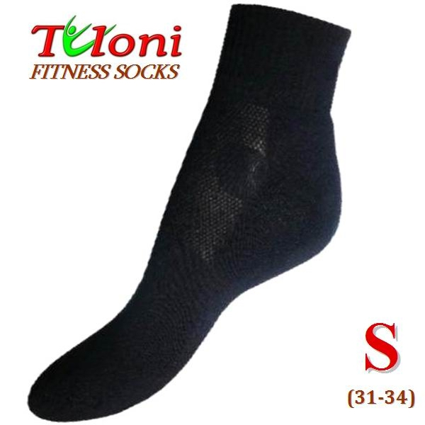 Multifunktionale Fitness Socken Tuloni Black Gr S (31-34) T0995S