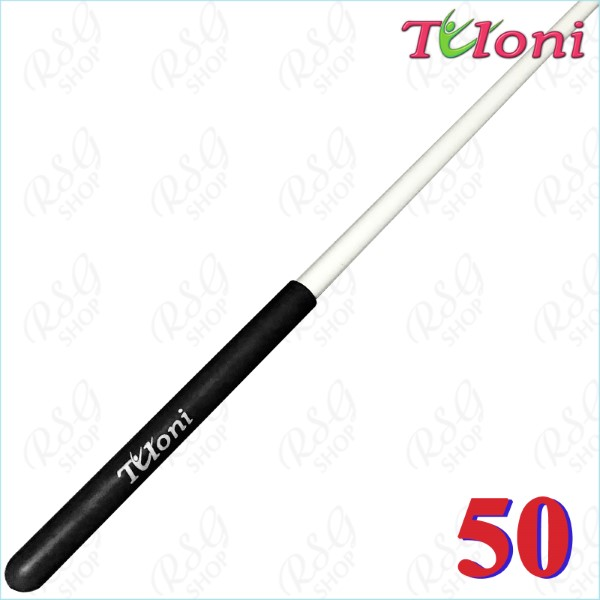 Stab 50cm Tuloni col. White incl. Black Grip Art. T0283