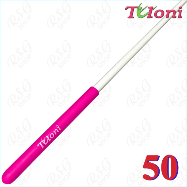 Stab 50cm Tuloni col. White incl. Pink Grip Art. T0987