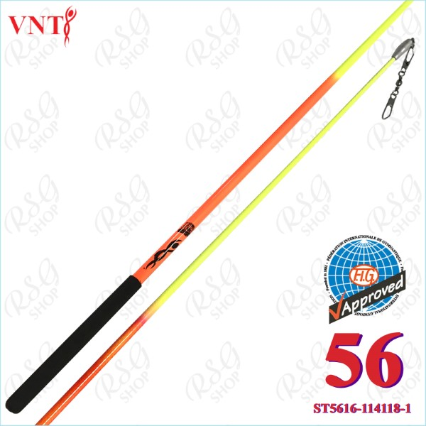 Stab 56 cm Venturelli Neon Orange - Yellow FIG ST5616-114118-1