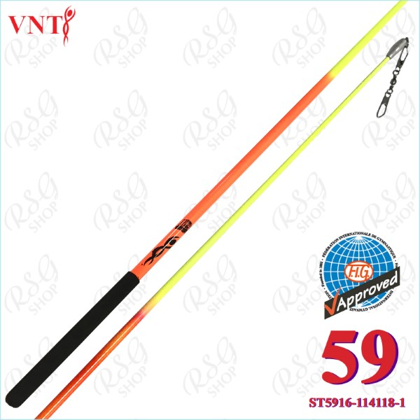 Stab 60 cm Venturelli Neon Orange - Yellow FIG ST5916-114118-1