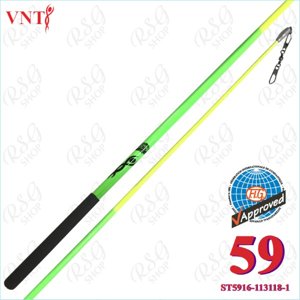 Stab 60 cm Venturelli Neon Green - Yellow FIG ST5916-113118-1