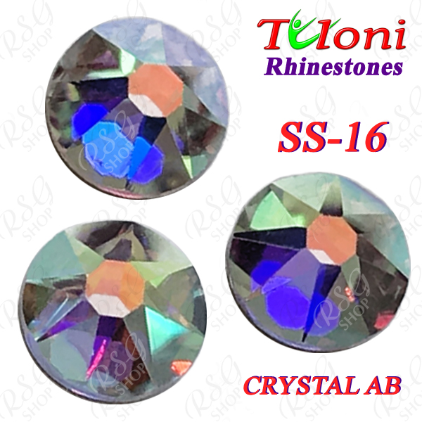 Strass Tuloni SS16 Crystal AB 1440 pcs No HotFix Flat Back