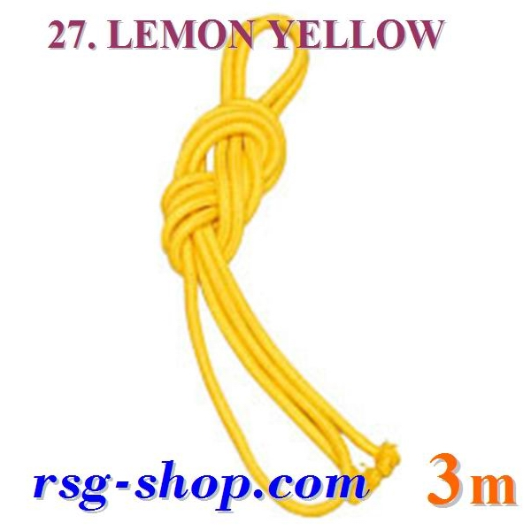 Seil Chacott 3 m FIG col. Lemon Yellow Art. 30227